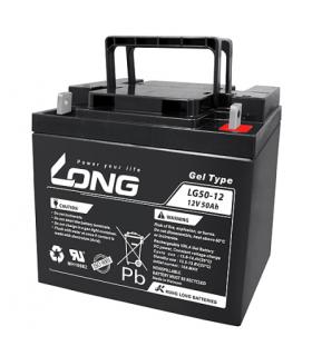 Batería Gel 12 V 50 Ah especial para scooter eléctrico